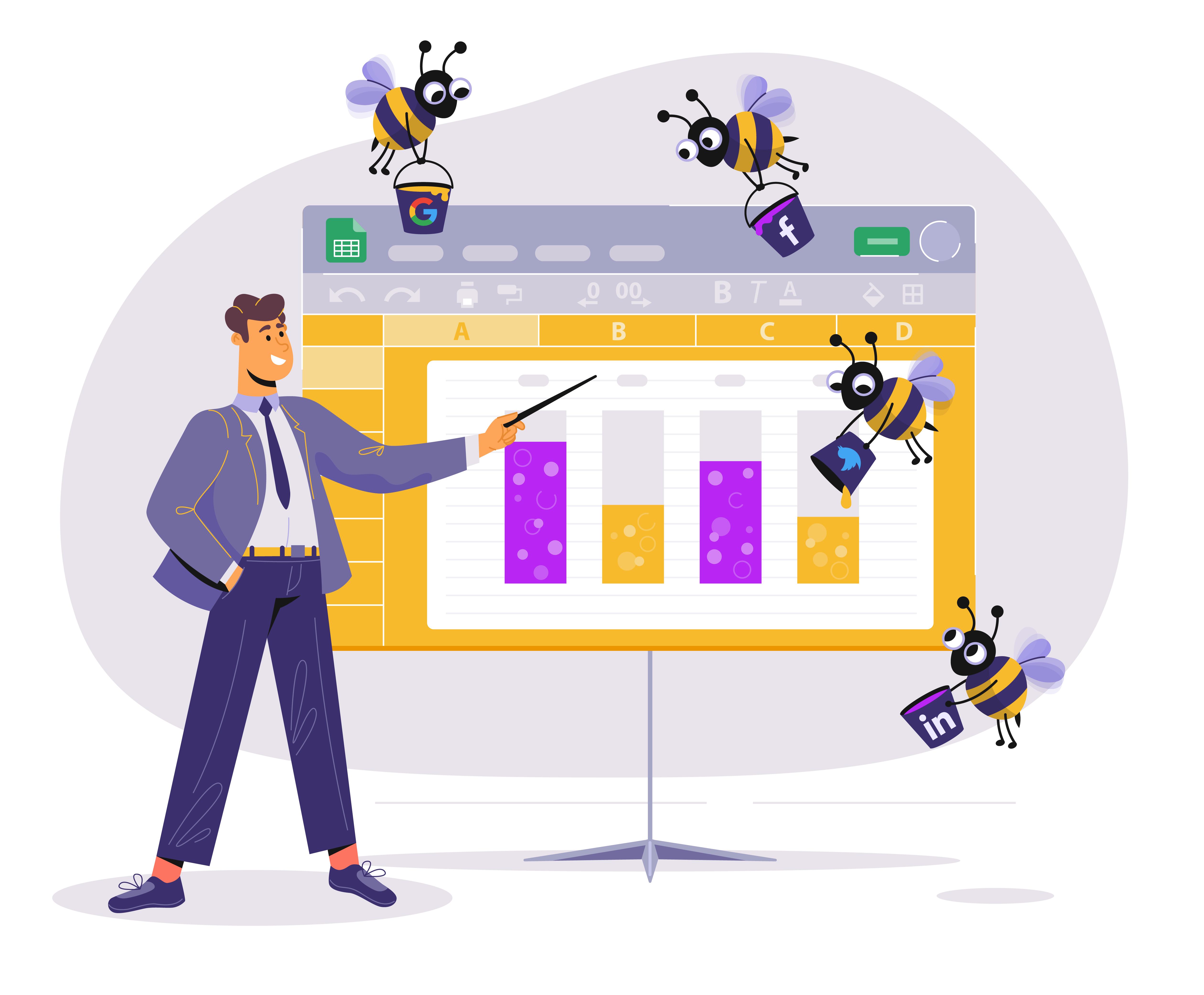 Google Sheets Add-on KPIBees