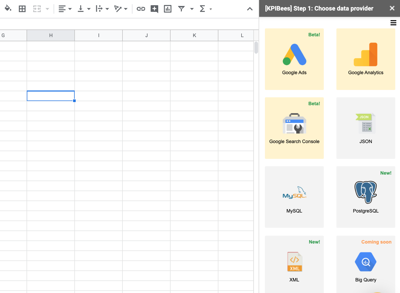 Google Search Console Integration Google Sheets
